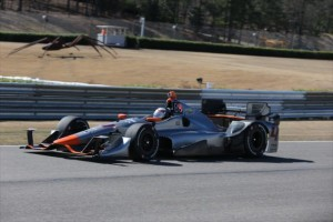 Coletti at Barber By Chris Jones - INDYCAR