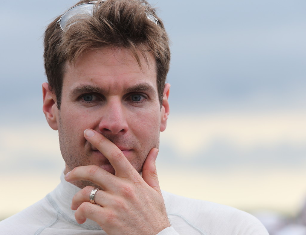 Team Penske's Will Power in a contemplative mood.  (Photo Courtesy of IndyCar - Chris Jones)