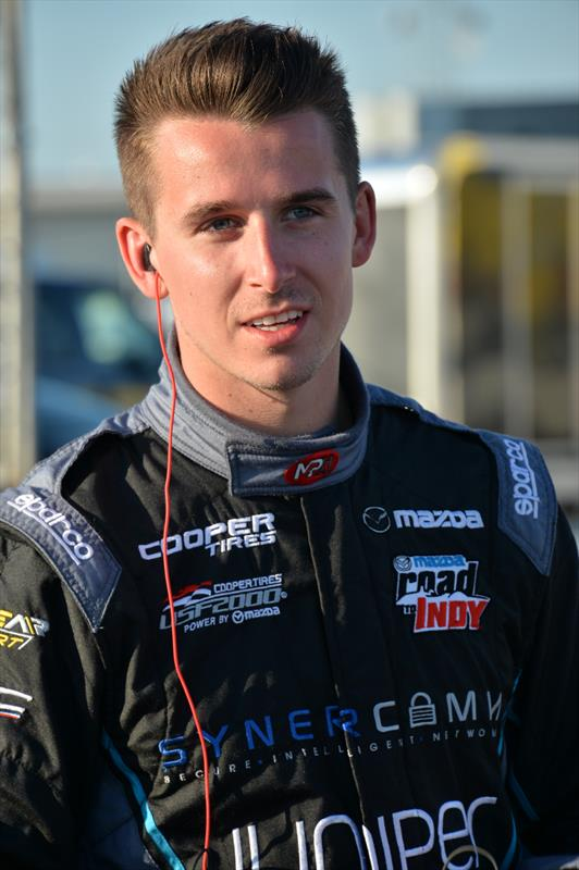 Max Hanratty, USF2000 driver for ArmsUp Motorsports has joined Trackside Online as a blogger for this season. (Photo courtesy of Indianapolis Motor Speedway, LLC Photography)