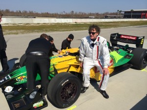 Chip Marshall President of VBR with his Champ Car - Resized