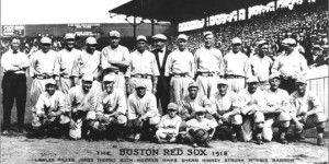 The 1918 Boston Red Sox