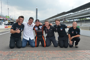 The 8Star Team celebrates at Indy (Photo Courtesy of Indy Lights PR)