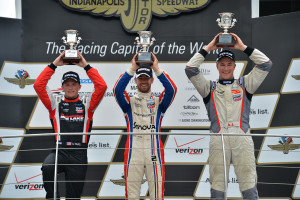 2015 USF2000 Race Two Podium Indy