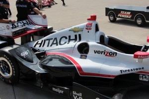 Penske Chevy's are not using the extra winglet.
