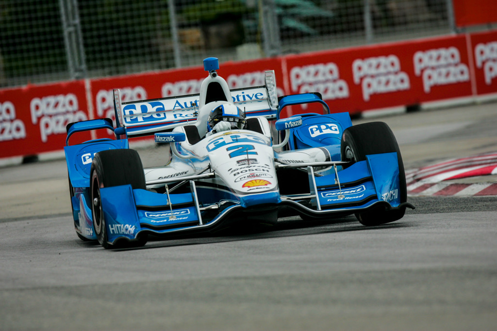 Montoya was quickest in Friday practice in Toronto