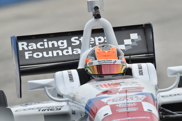Indy Lights presented by Cooper Tire points leader Jack Harvey heads to Iowa focused on winning the championship (Photo courtesy of Indianapolis Motor Speedway, LLC Photography)