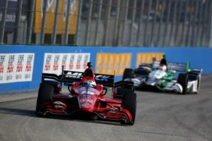 Graham Rahal scored his fifth IndyCar Series podium finish of 2015 Sunday at The Milwaukee Mile