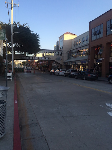 Cannery row in Monterey, California (photo by Steve Wittich)