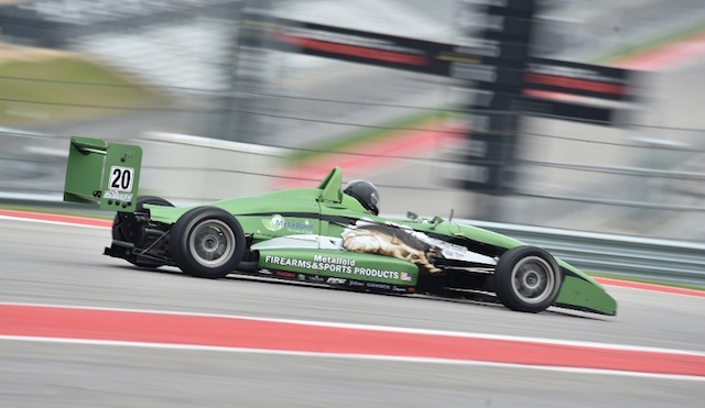 After getting their feet wet at Mid-Ohio Sports Car Course in 2015, the RJB Motorsports squad recently took part in the Chris Griffis Memorial Mazda Road To Indy Test at Circuit of the Americas ((Photo courtesy of Indianapolis Motor Speedway, LLC Photography)