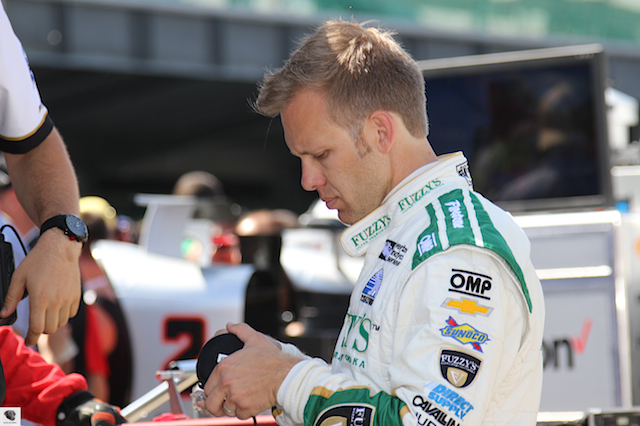 Ed Carpenter on Carb Day